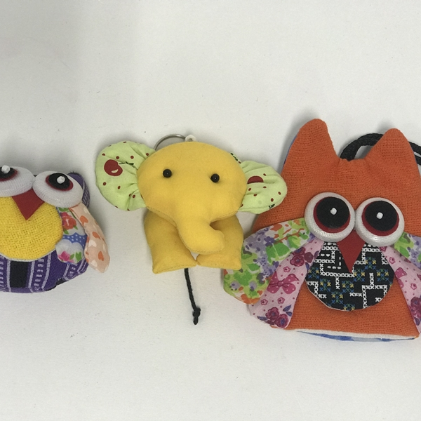 Handmade variety Doll Keychain