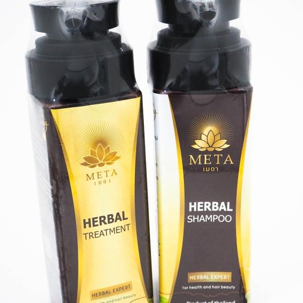 META Herbal Shampoo, Herbal Treatment Set