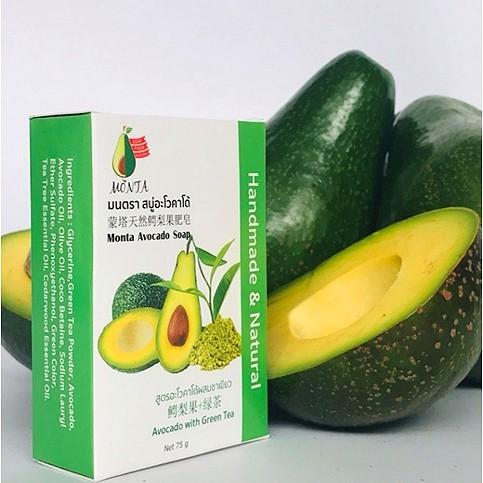 Monta Avocado Soap : Avocado with Green Tea