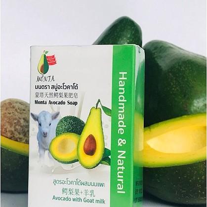 Monta Avocado Soap : Avocado with Goat milk