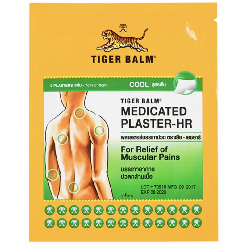 pain relief plaster (cold formula)